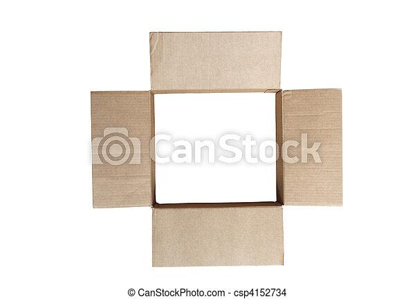Open Empty Box - csp4152734