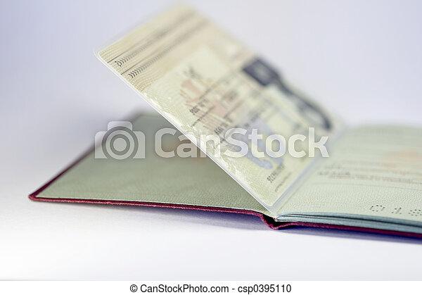 open german passport 02 - csp0395110