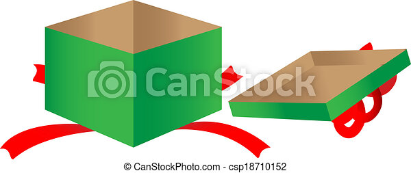 Open gift box gift box clipart vector search illustration open gift box csp18710152 negle Gallery