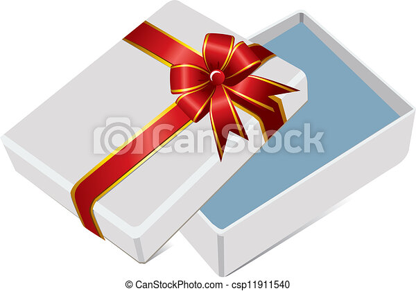 The open gift box eps vector search clip art illustration open gift box csp11911540 negle Gallery