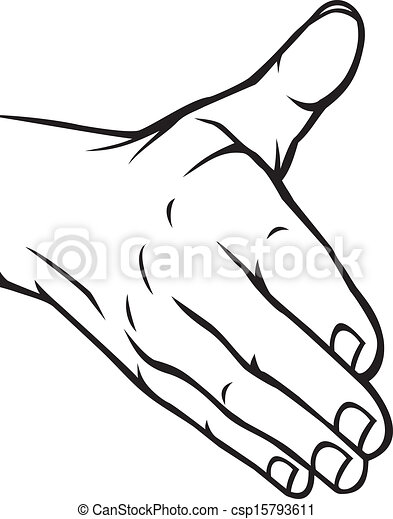 open hand clipart and stock illustrations 27 202 open hand vector rh canstockphoto com open praying hands clipart jesus open hands clipart