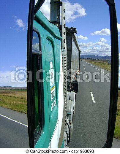 Open highway trucking - csp1963693