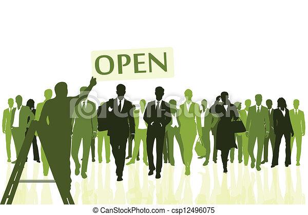 Open - csp12496075