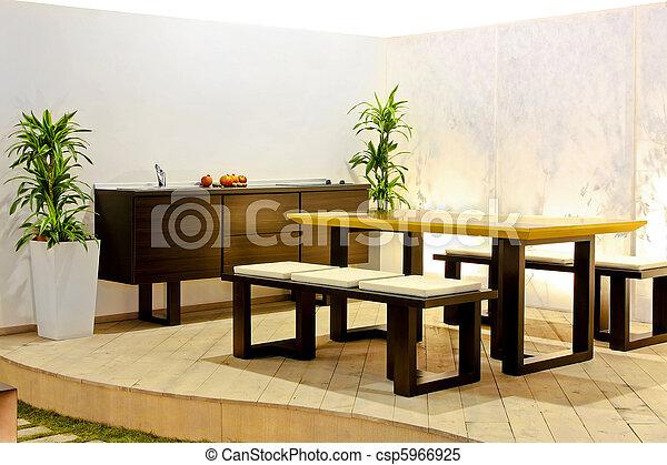 Open kitchen - csp5966925