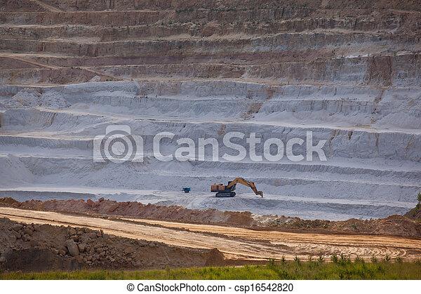 Open mine pit - csp16542820