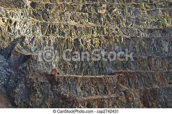 open pit mine - csp2742431