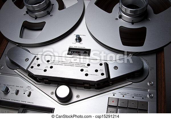 Open Reel Stereo Deck - csp15291214