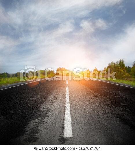 Open Road - csp7621764