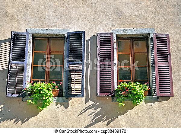 Open windows - csp38409172