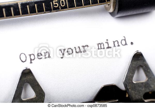 Open your mind - csp0873585