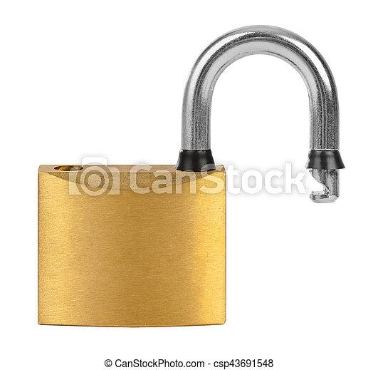 Opened lock - csp43691548