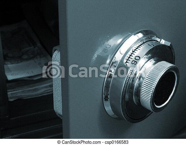 Opened Safe - csp0166583
