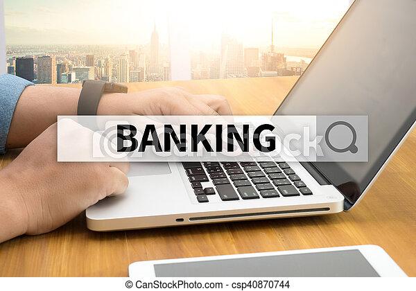 operação bancária - csp40870744