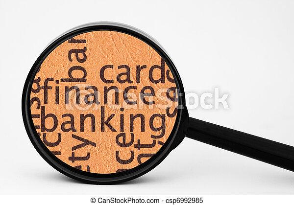 operação bancária - csp6992985