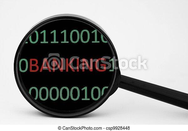 operação bancária - csp9928448