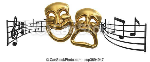 opera, muzyczny, teatr - csp3694947
