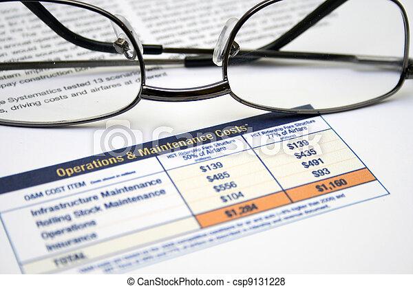 Operating cost - csp9131228