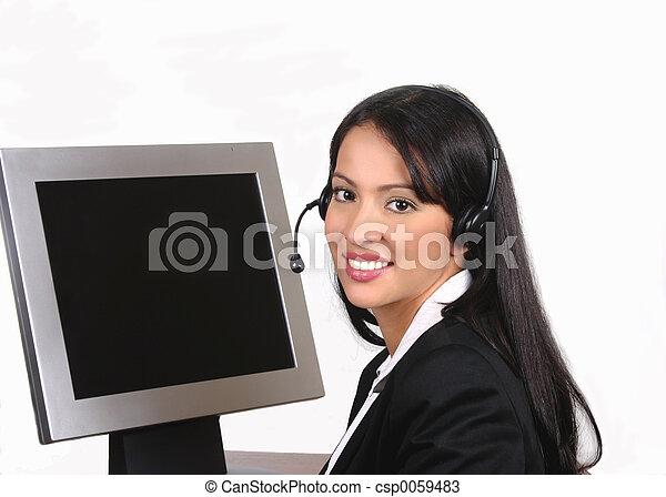 operator, headset - csp0059483