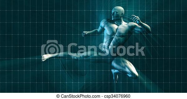 opleiding, lichamelijk - csp34076960