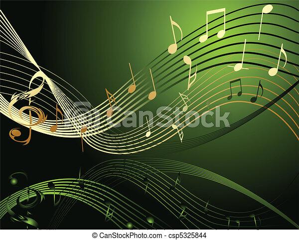 opmerkingen, muziek, achtergrond - csp5325844