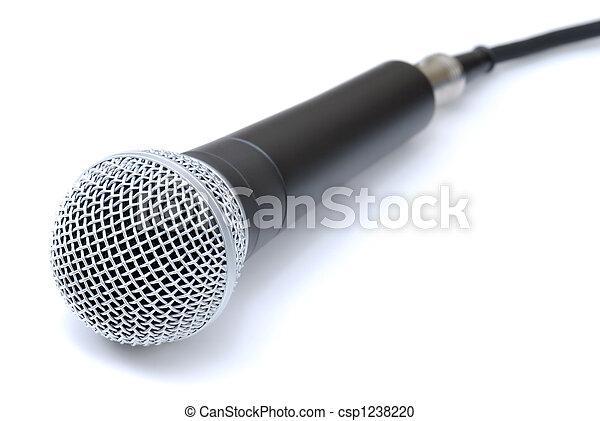 opname, microfoon - csp1238220