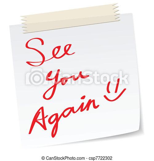 opnieuw, zien, boodschap, u - csp7722302