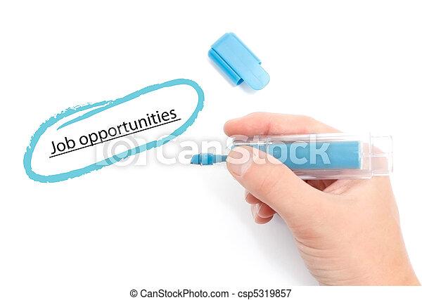 oportunidades trabalho - csp5319857