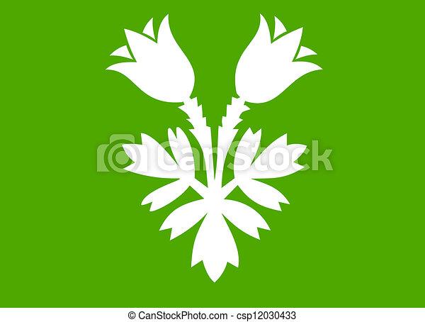 Oppland flag - csp12030433