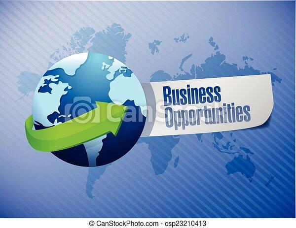 opportunità, segno, affari - csp23210413