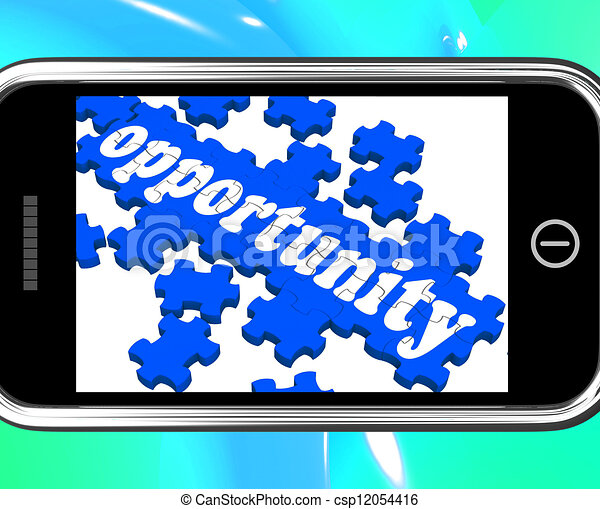 Opportunity On Smartphone Shows Big Chances - csp12054416