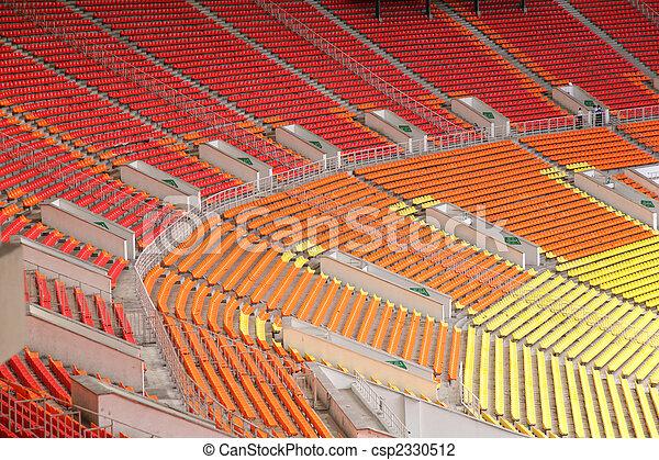 opróżniać, stadion - csp2330512