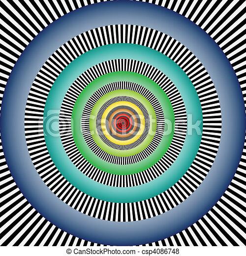 Optic illusion - csp4086748