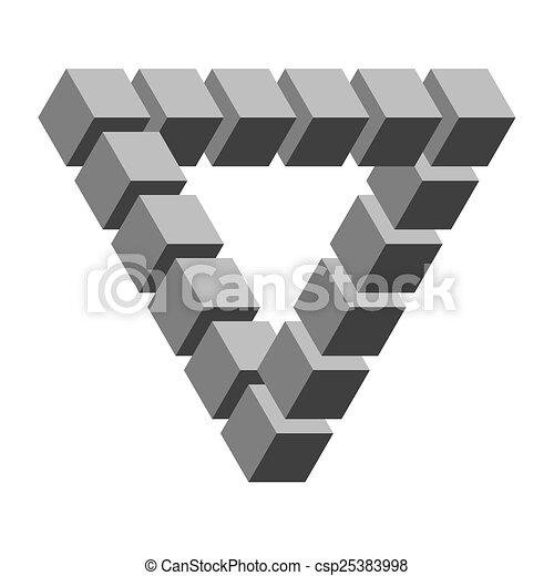 optical illusion - csp25383998
