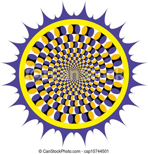Optical illusion Spin Cycle - csp10744501