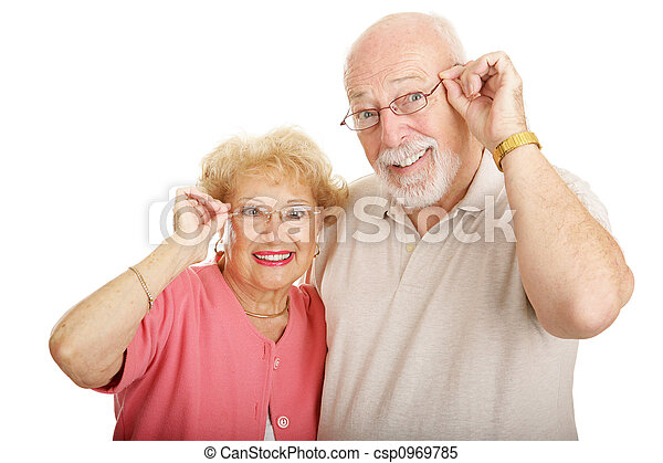 Optical Series - Couple With Glasses - csp0969785