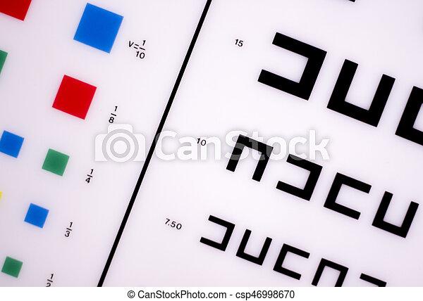 Optician Eye Test Chart Opticians Ophthalmology And Optometry Eye