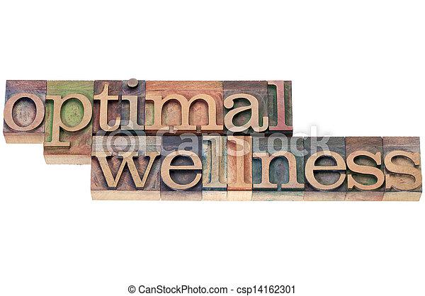 optimal wellness in wood type - csp14162301