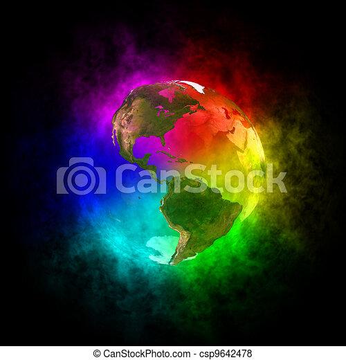 Optimistic future - America - csp9642478