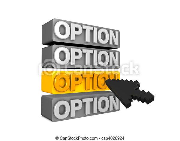 Option - csp4026924