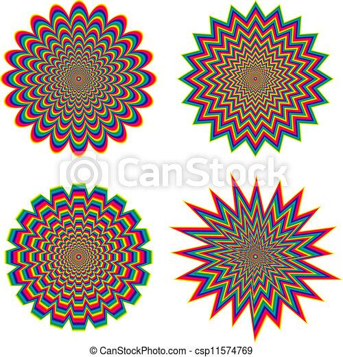 optische illusie - csp11574769