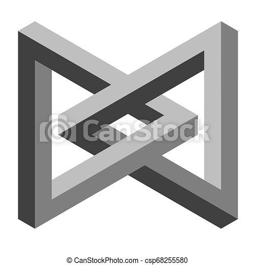optische illusie - csp68255580
