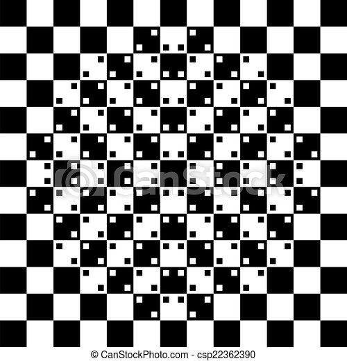 optische illusie - csp22362390