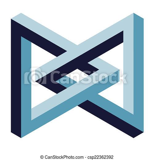 optische illusie - csp22362392