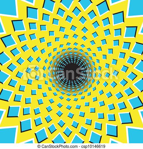 optische illusie - csp10146619