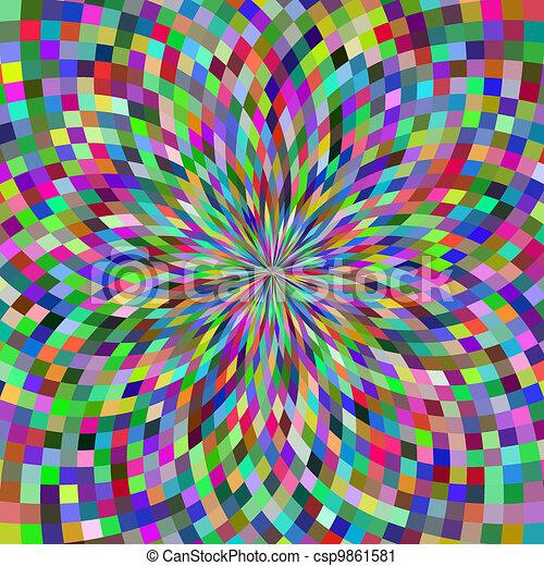 optische illusie - csp9861581