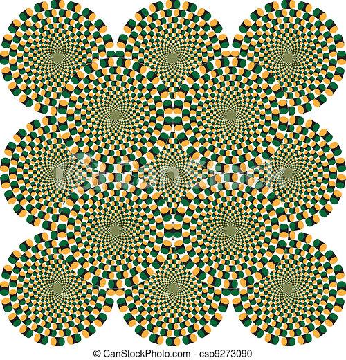 optische illusie - csp9273090