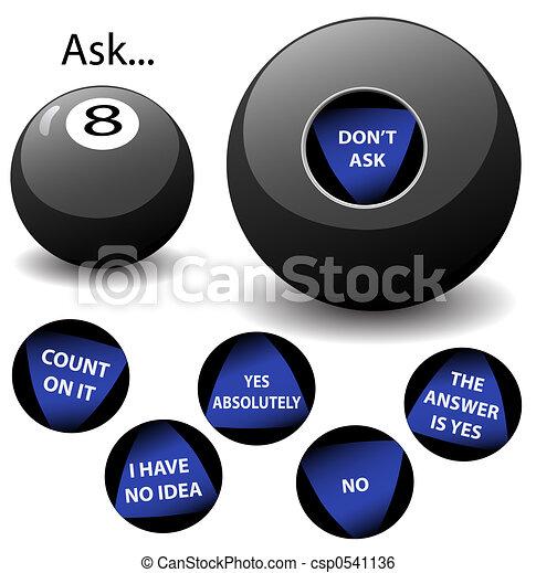 Oracle 8 Ball - csp0541136