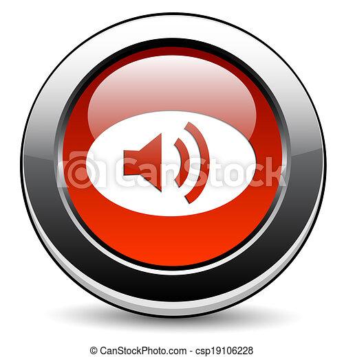 orador, ícone - csp19106228