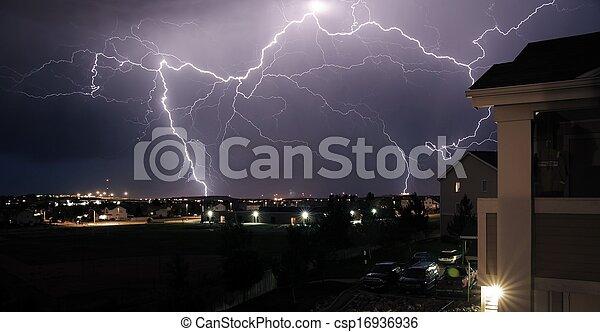 orage, extrême - csp16936936