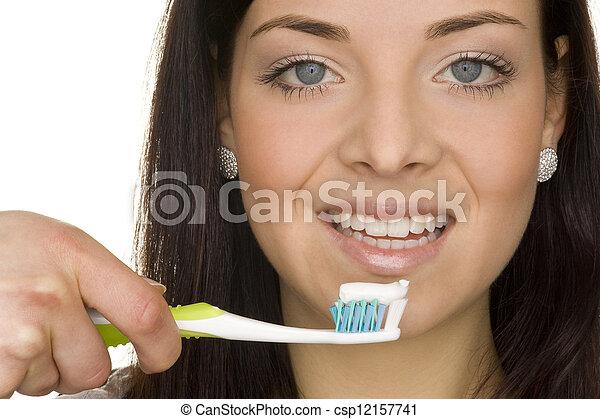 oral hygiene - csp12157741